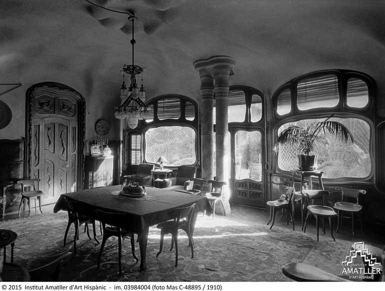 Casa Batlló en los años veinte del siglo XX