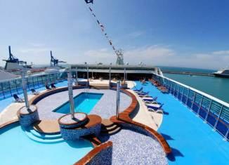 Cubieta barco de Grimaldi Lines