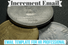 Increment Email Template