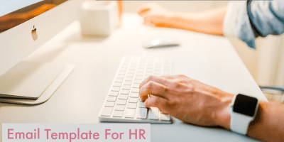 Promotion Email Template For HR Professional