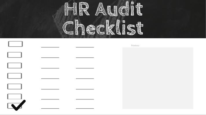 HR Function Audit Checklist