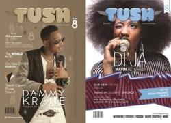 Dammy Krane & Mavin New Recruit Di'ja cover 8th Issue of Tush Magazine