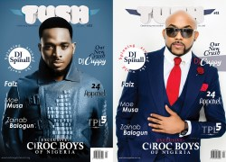 BANKY W & D'BANJ LOOK STUNNING ON THE COVER PAGES OF ISSUE 11