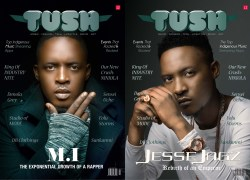 THE ABAGA BROTHERS – M.I & JESSE JAGZ COVER 12th ISSUE OF TUSH MAGAZINE