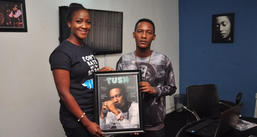 Tush Magazine Presents Cover Portraits to M.I and Jesse Jagz