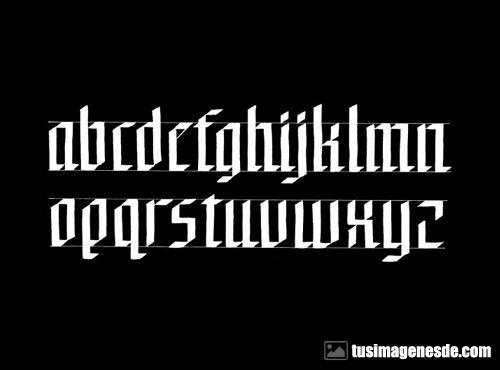 Imágenes De Letras Góticas Imágenes