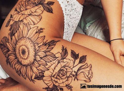 Imágenes De Tatuajes Para Mujeres En La Pierna Imágenes