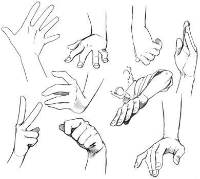 Imgenes de dibujos de manos  Imgenes
