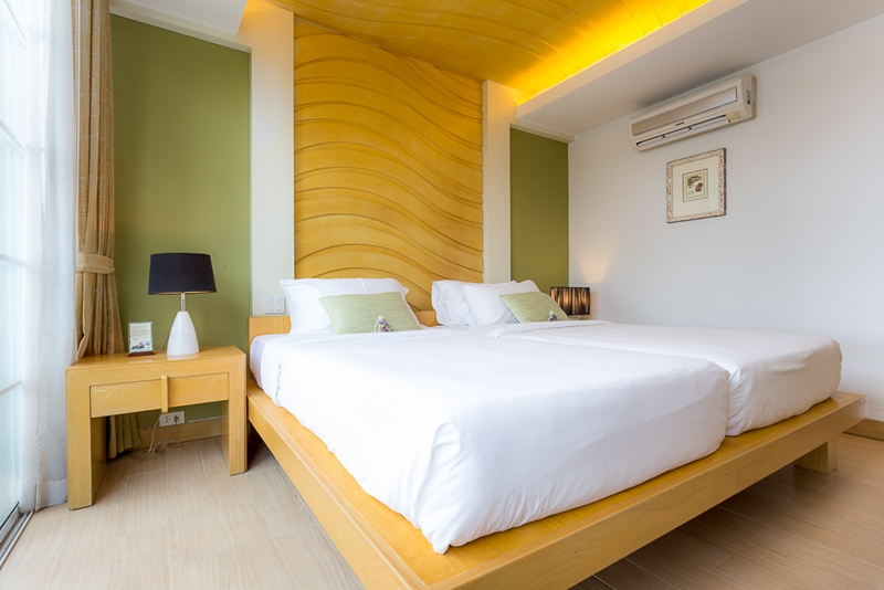 Tusita Wellness Resort Chumphon : Beachfront Jacuzzi Suite