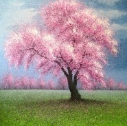"""""""Spring Is Alive and the Meadows Are Green"""", 150x150cm (iiio)"""