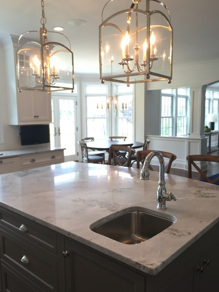 Kitchen Tile & Lighting Home Renovation Project in Fairfield, CT