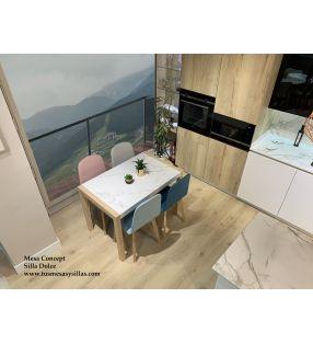 tables de cuisine avec comptoirs en