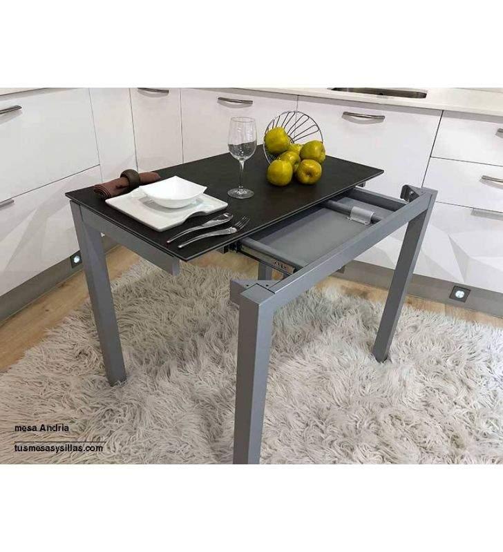 table etroite andria 90x50 cm en verre ou en porcelaine