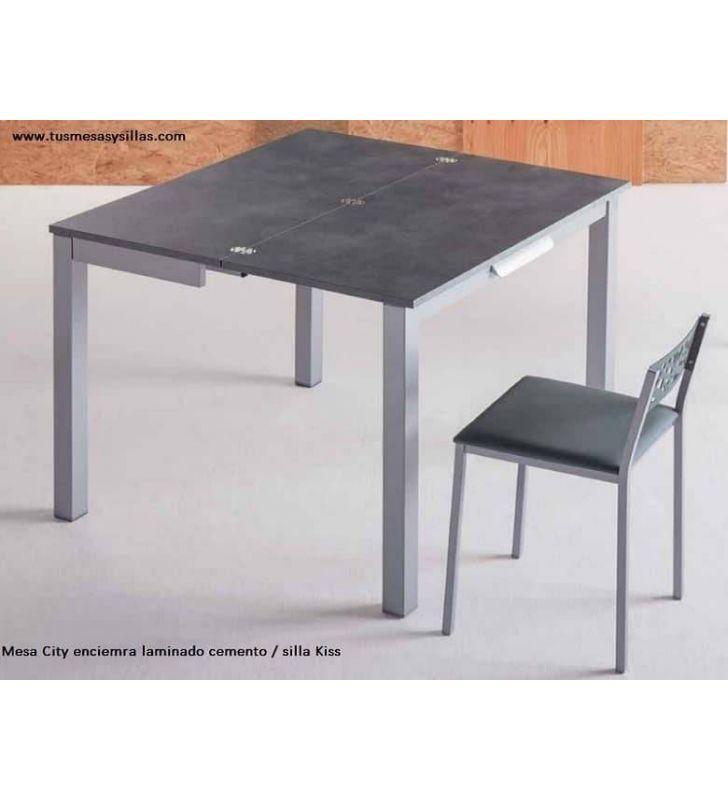 petite table de cuisine extensible city qui s ouvre deux fois et avec tiroir