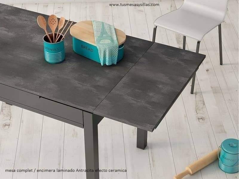 table de cuisine extensible avec tiroir