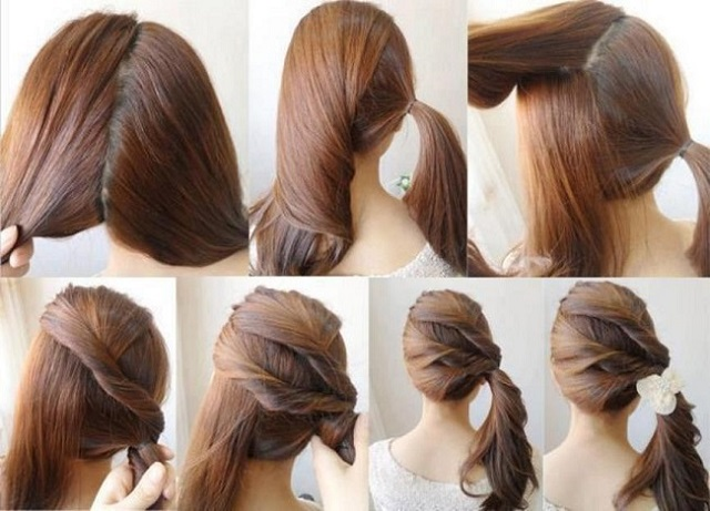 Los 10 Mejores Peinados Faciles Bonitos Y Rapidos Paso A Paso