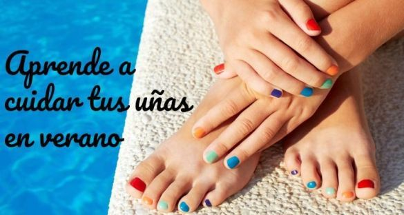 cuida tus uñas en verano