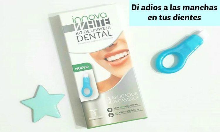 innovawhite kit de limpieza dental blanqueamiento