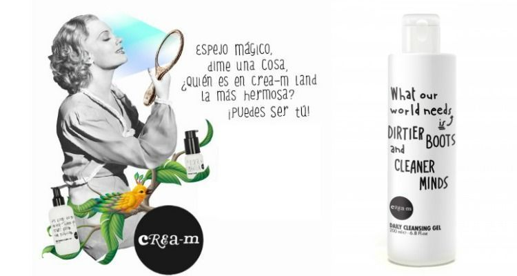 cream cosmetics gel limpiador