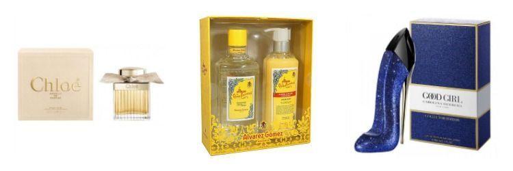 navidad regalo perfumes