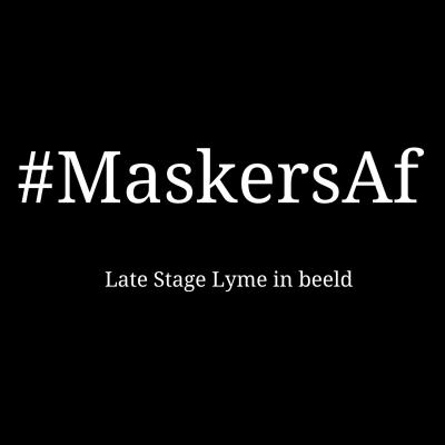 Maskers Af late stage lyme in beeld