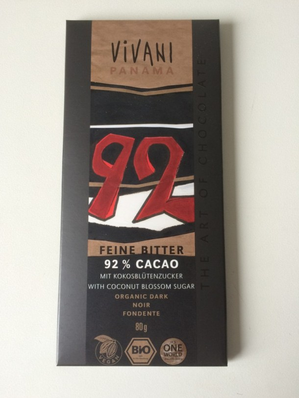 vivani chocolade 92 zonder suiker