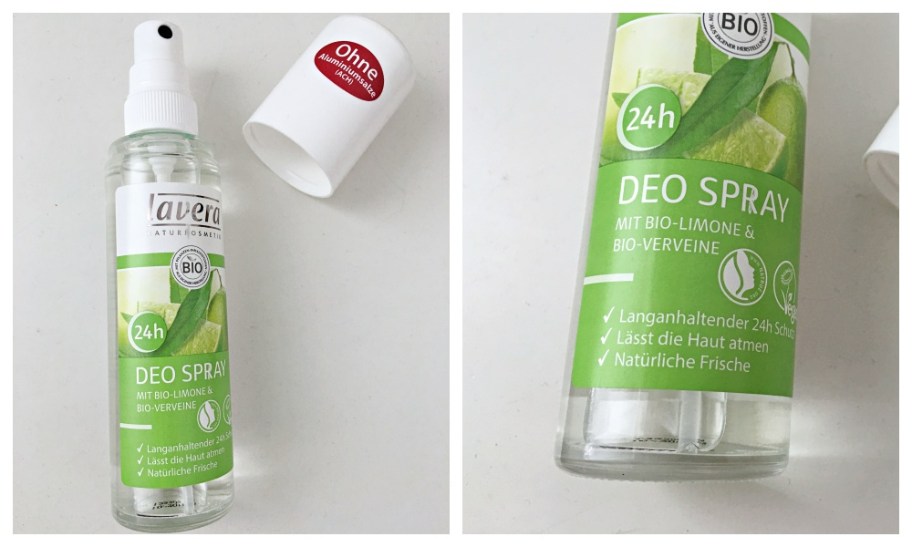 Lavera deodorant spray lime review