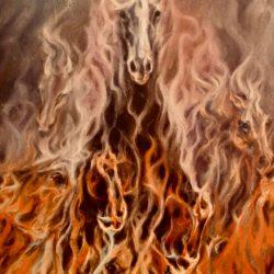 Vuurpaard uit De weg van het Paard van Linda Kohanov