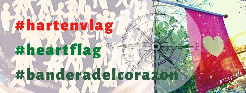 Hartenvlag, alleen samen