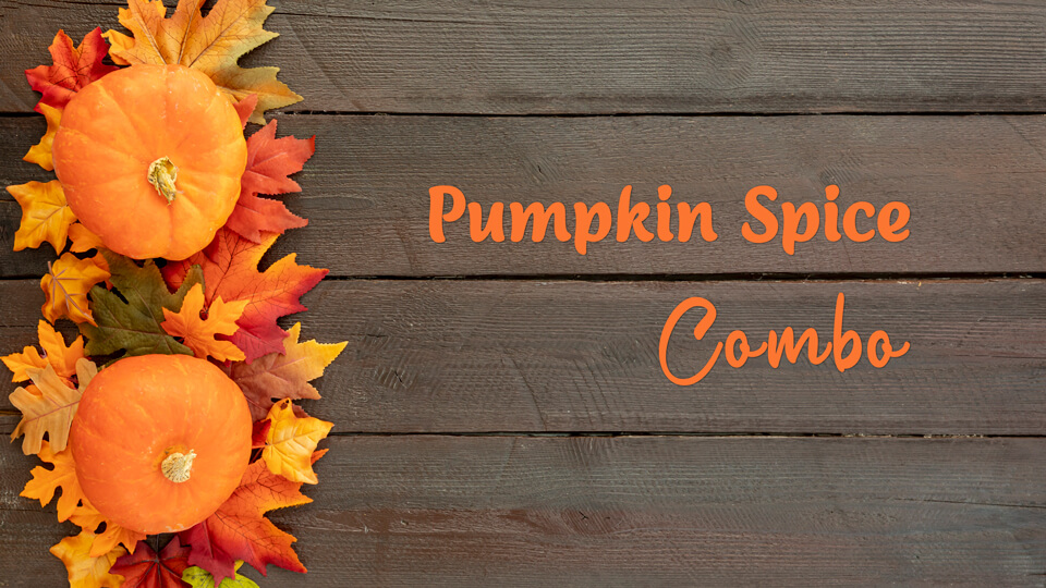 Pumpkin Spice Massage plus Facial special deal