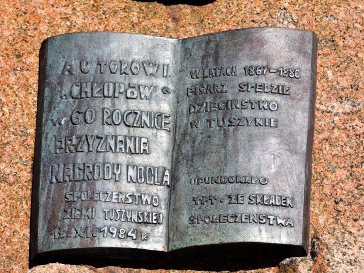 Tablica Z Placu Reymonta W Tuszynie 4 3 900x675