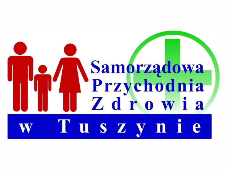 Logo Przychodnia Tuszyn 60x37cm Wizualizacja 900x675