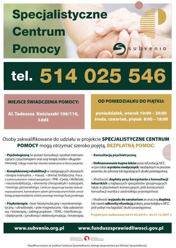 Centrum Pomocy Plakat 569x800