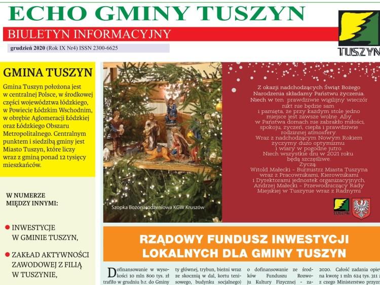 Echo Gminy Tuszyn Grudzien 900x675