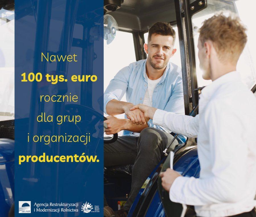 Nawet 100 Tys. Euro Rocznie Dla Grup I Organizacji Producentow Informacja Prasowa 900x763
