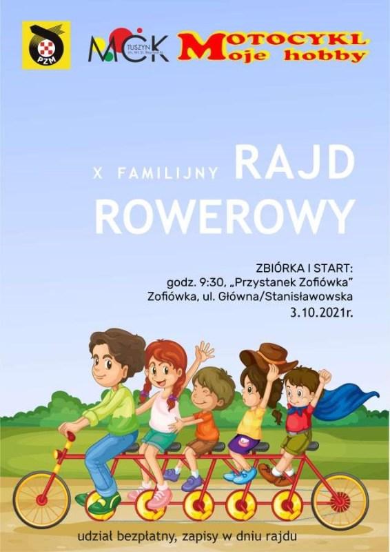 Rajd Rowerowy 566x800