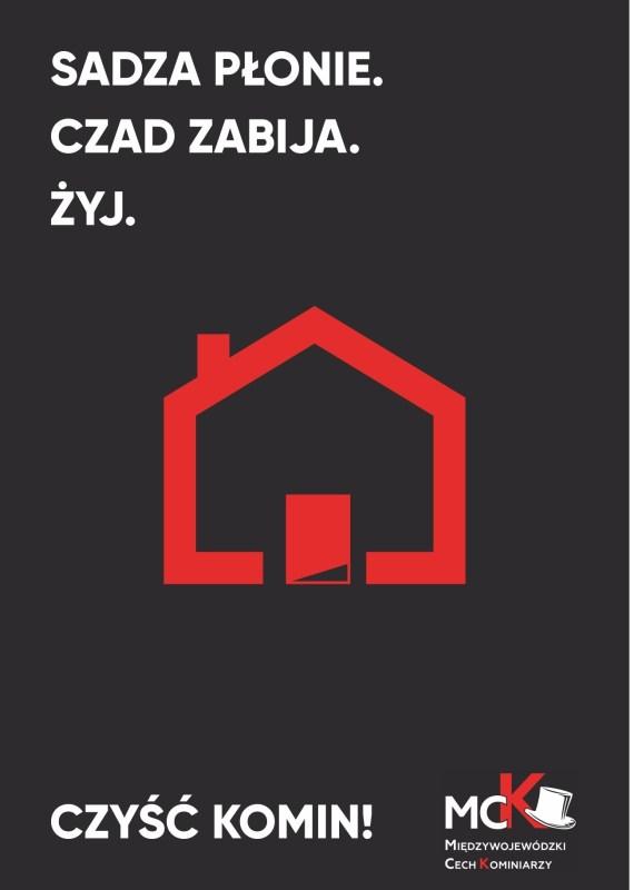 Czad Plakat