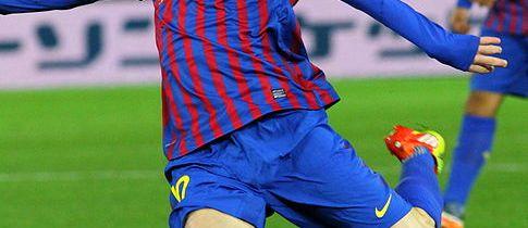 Lionel Messi, a crack !