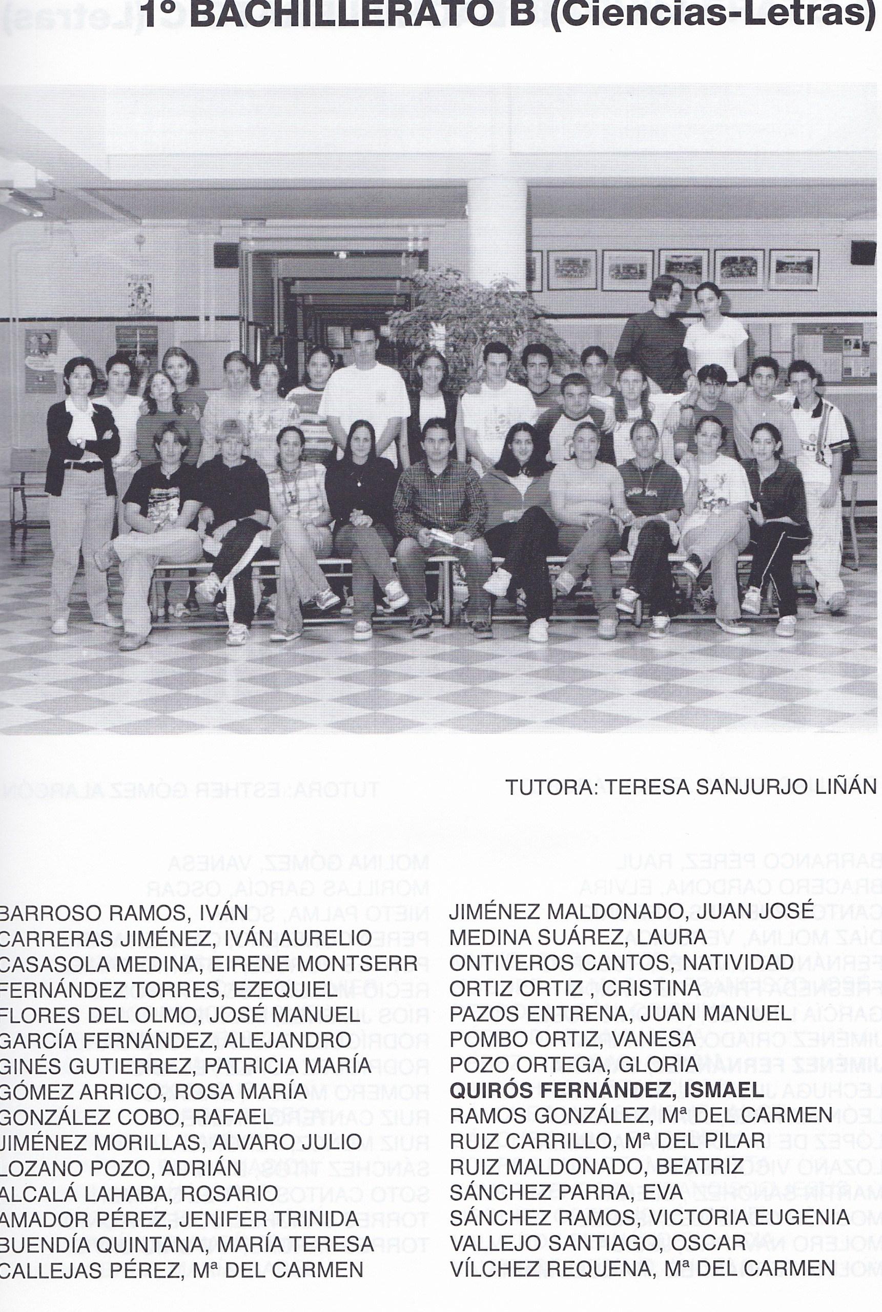 1BACH B (curso 1999-2000)