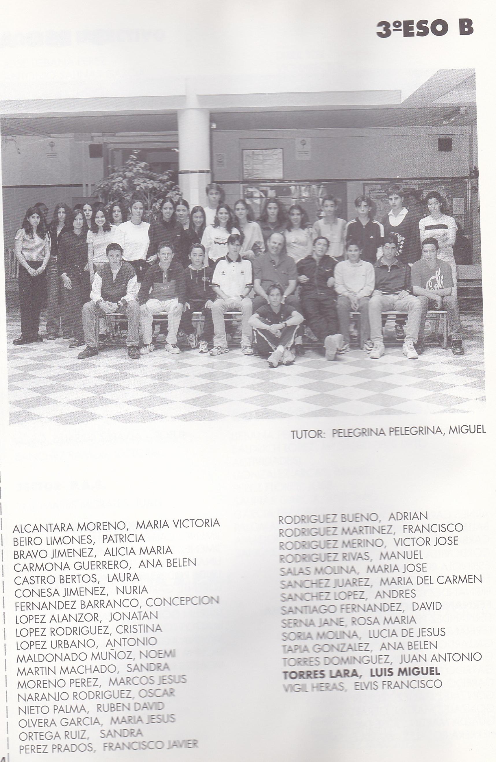 3SO B (curso 1998-1999)