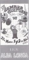 VIII Semana Cultural (curso 1997-1998)