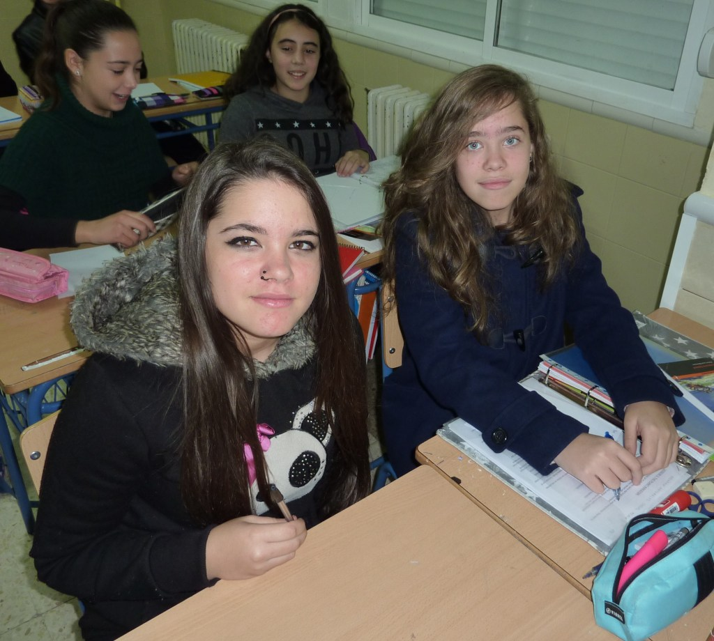 Paula Estarli Medrano y Ana Pozo Avi.
