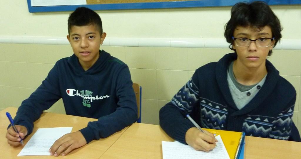 Nuestro Delegado Óscar Bueno y Subdelegado Julio David Correa.
