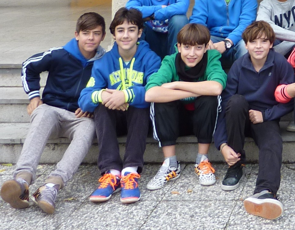 José Antonio Guerrero, Pablo Ujaque, Carlos Rodríguez y Álvaro Rodríguez.
