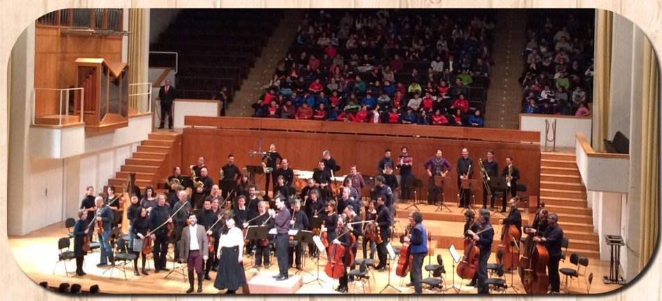 La Orquesta Ciudad de Granada (OCG).