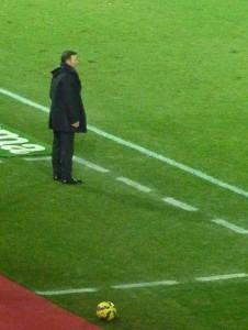 Abel Resino, nuevo entrenador del Granada C. F. PHOTO: Autor del artículo.