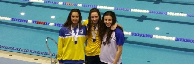 GLORIA POSADAS, una campeona de natación entre nosotros