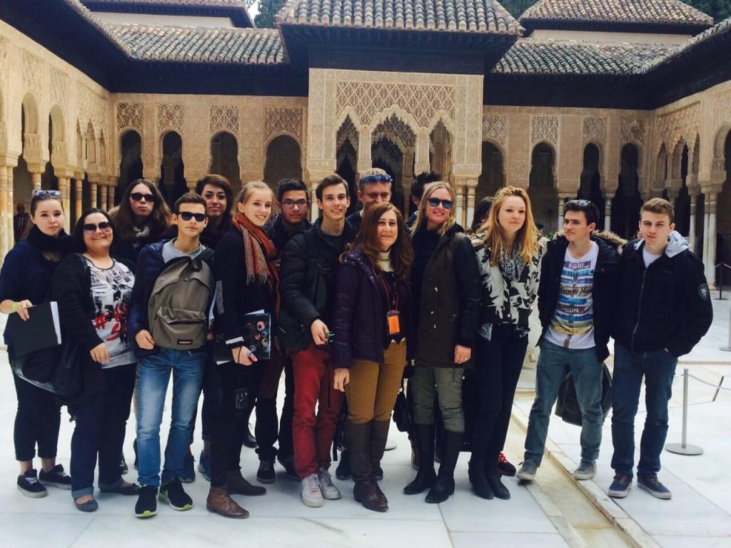 Visita a la Alhambra de Granada.