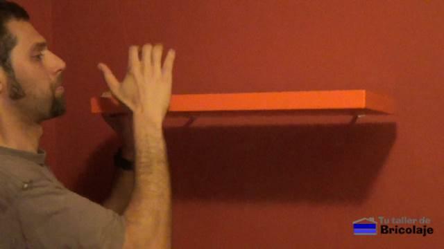 Cmo hacer e instalar un estante o repisa flotante