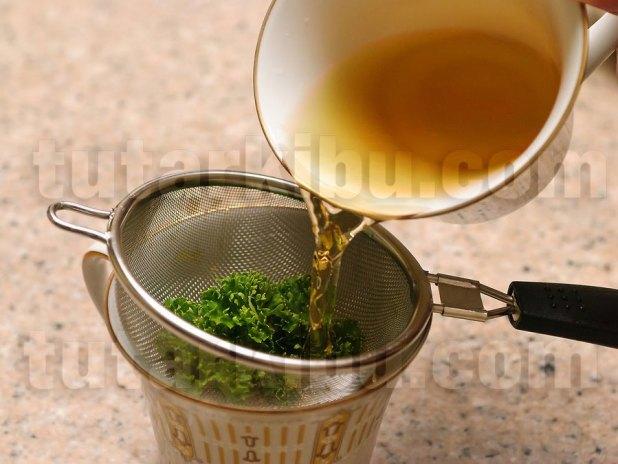 Maydanoz çayı tarifi